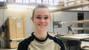 First female carpenter appointed at Moonen Yachts